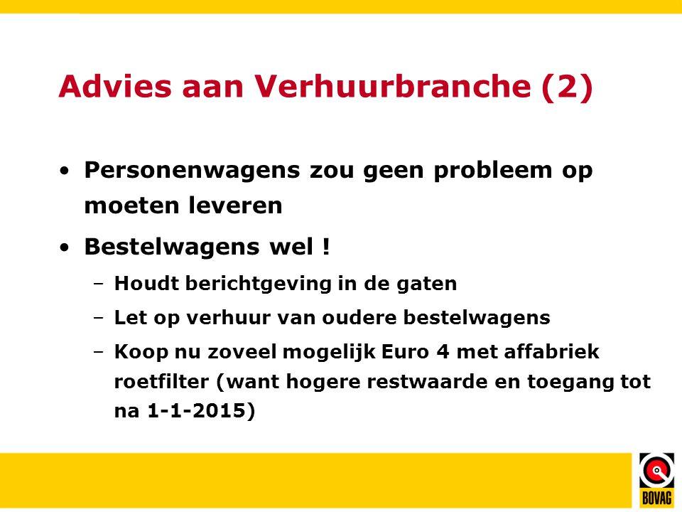 Advies aan Verhuurbranche (2)