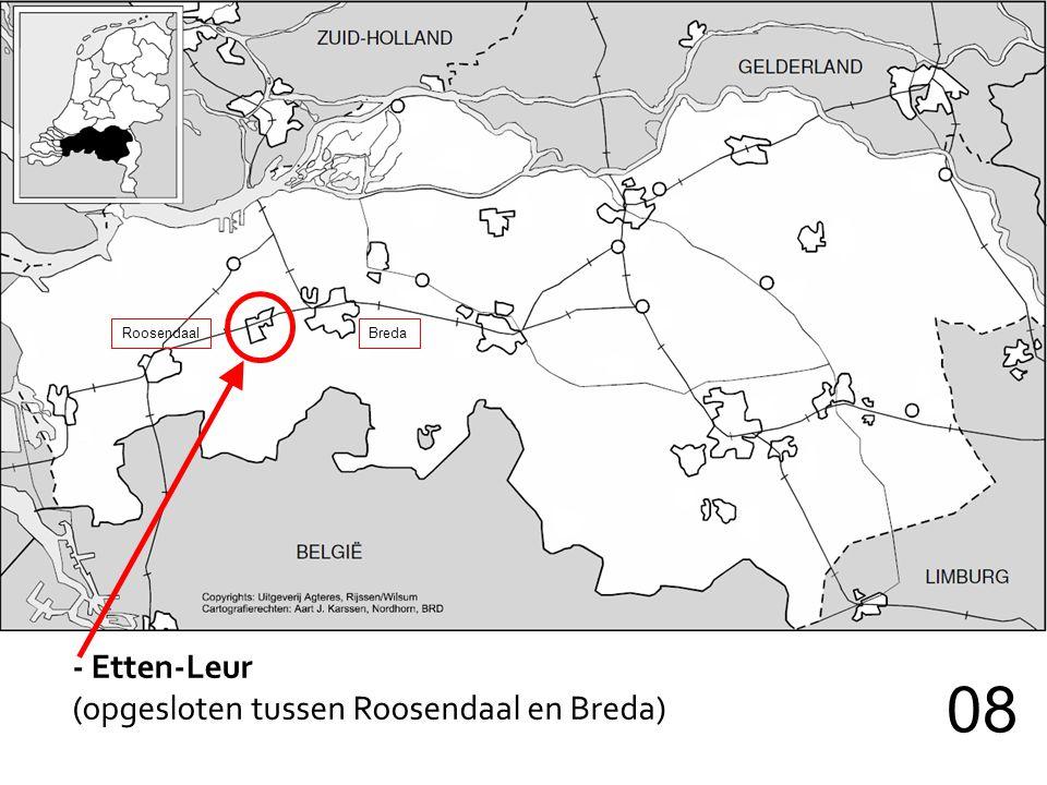 08 - Etten-Leur (opgesloten tussen Roosendaal en Breda) Roosendaal