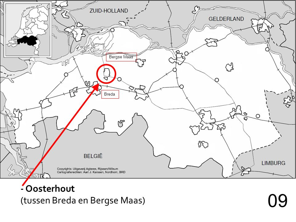 Bergse Maas Breda - Oosterhout (tussen Breda en Bergse Maas) 09