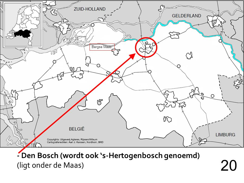 20 - Den Bosch (wordt ook 's-Hertogenbosch genoemd)