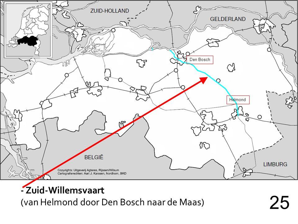 25 - Zuid-Willemsvaart (van Helmond door Den Bosch naar de Maas)