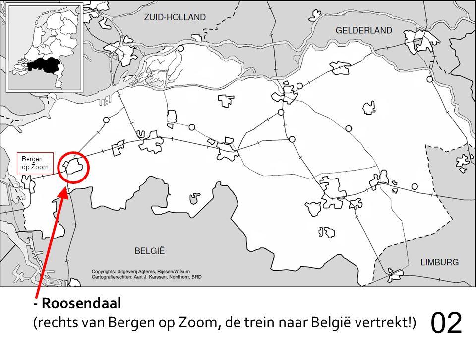 Bergen op Zoom - Roosendaal (rechts van Bergen op Zoom, de trein naar België vertrekt!) 02