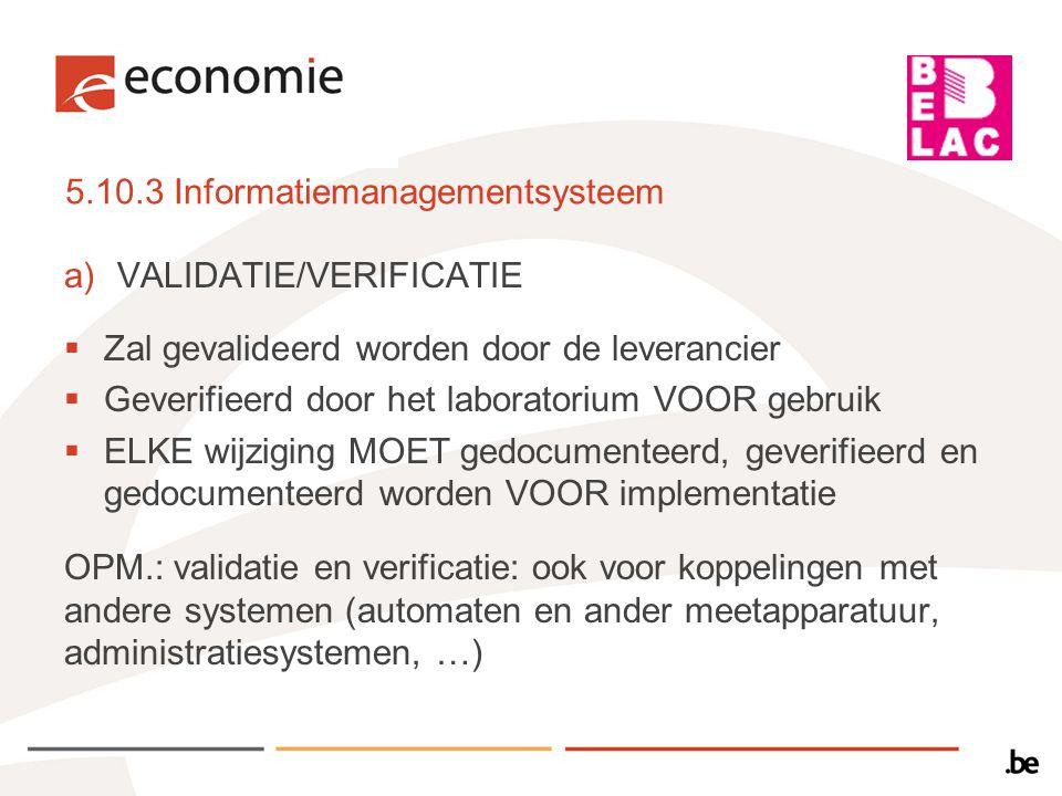 5.10.3 Informatiemanagementsysteem