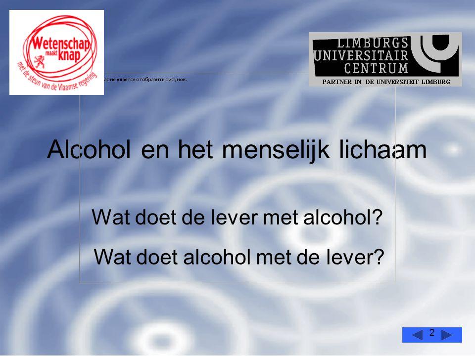 Alcohol en het menselijk lichaam