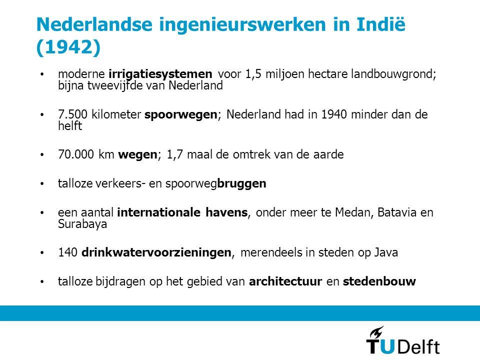 Nederlandse ingenieurswerken in Indië (1942)
