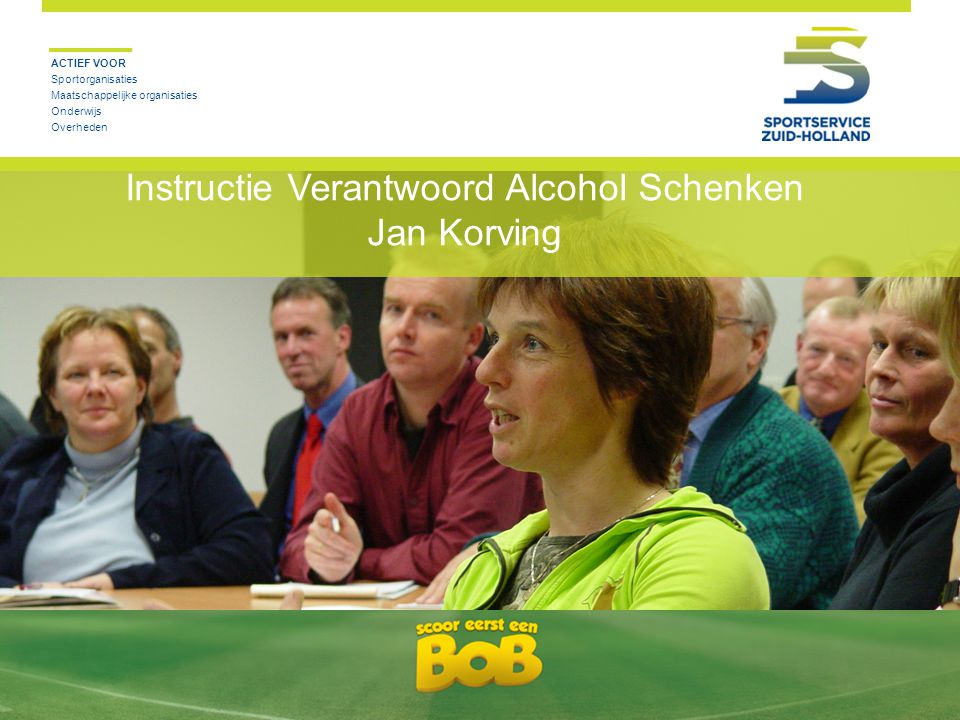 Instructie Verantwoord Alcohol Schenken Jan Korving