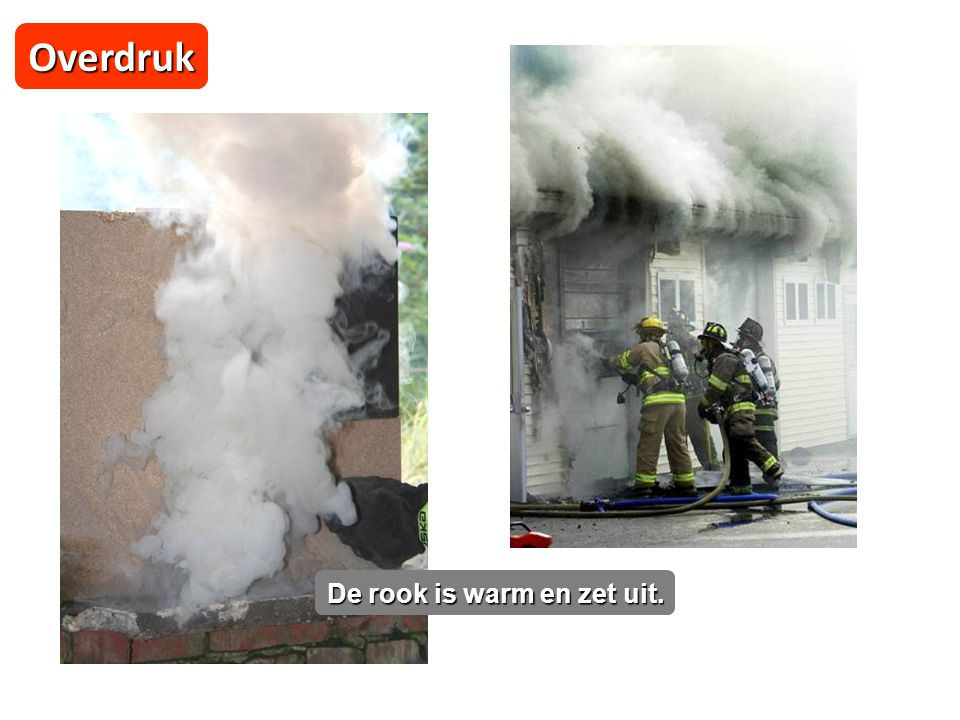 Overdruk De rook is warm en zet uit. 03/04/2017