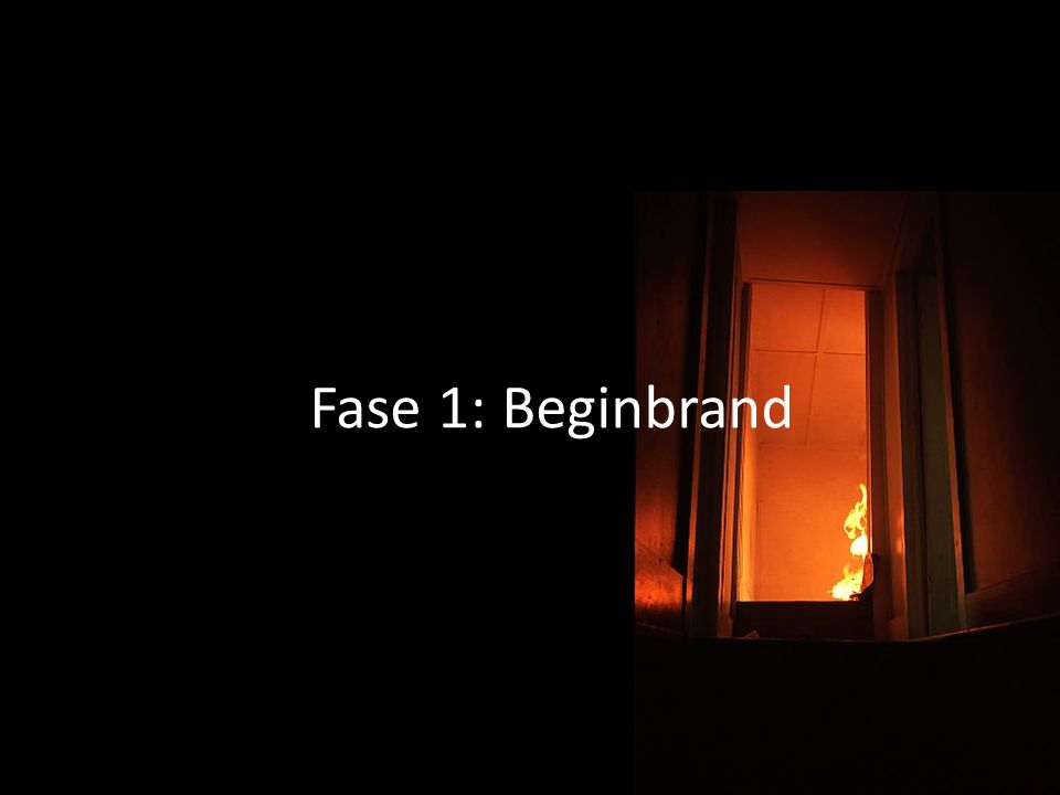 03/04/2017 Fase 1: Beginbrand Analysons sommairement les 5 phases.