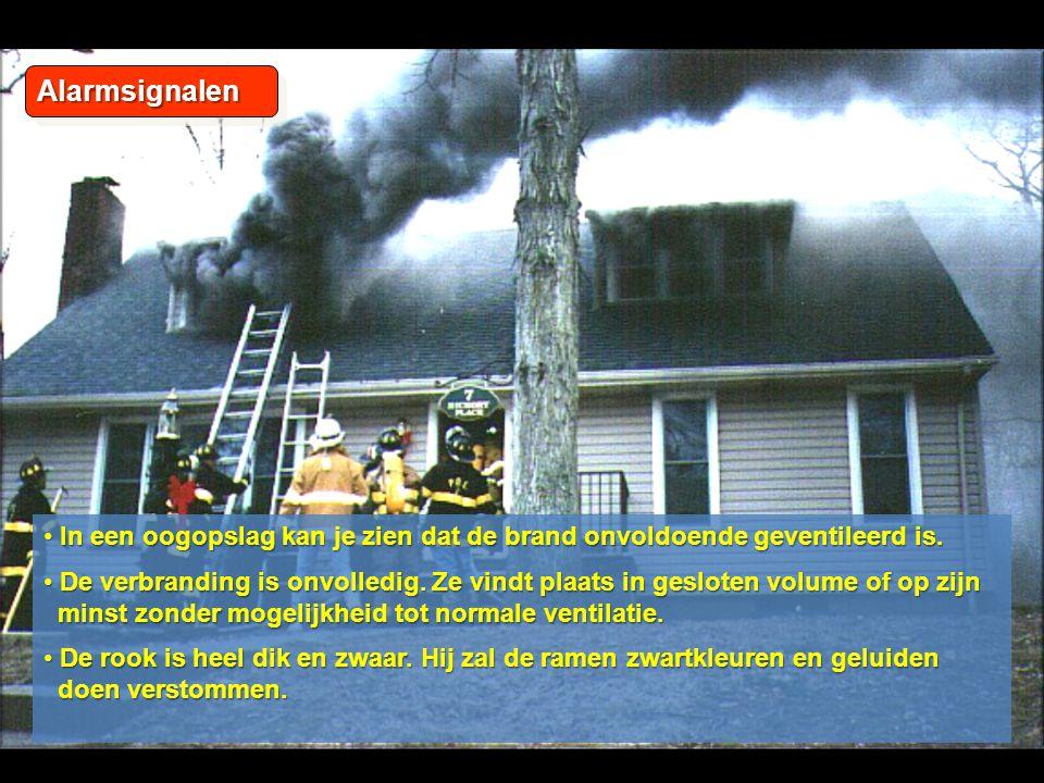 03/04/2017 Alarmsignalen. In een oogopslag kan je zien dat de brand onvoldoende geventileerd is.