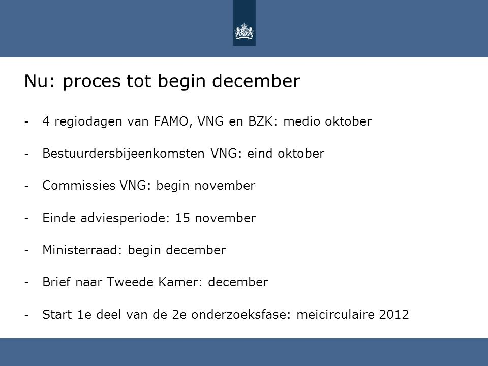 Nu: proces tot begin december