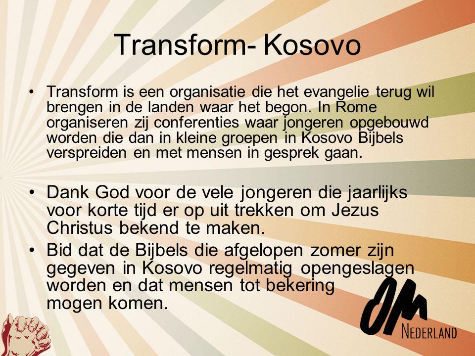 Transform- Kosovo