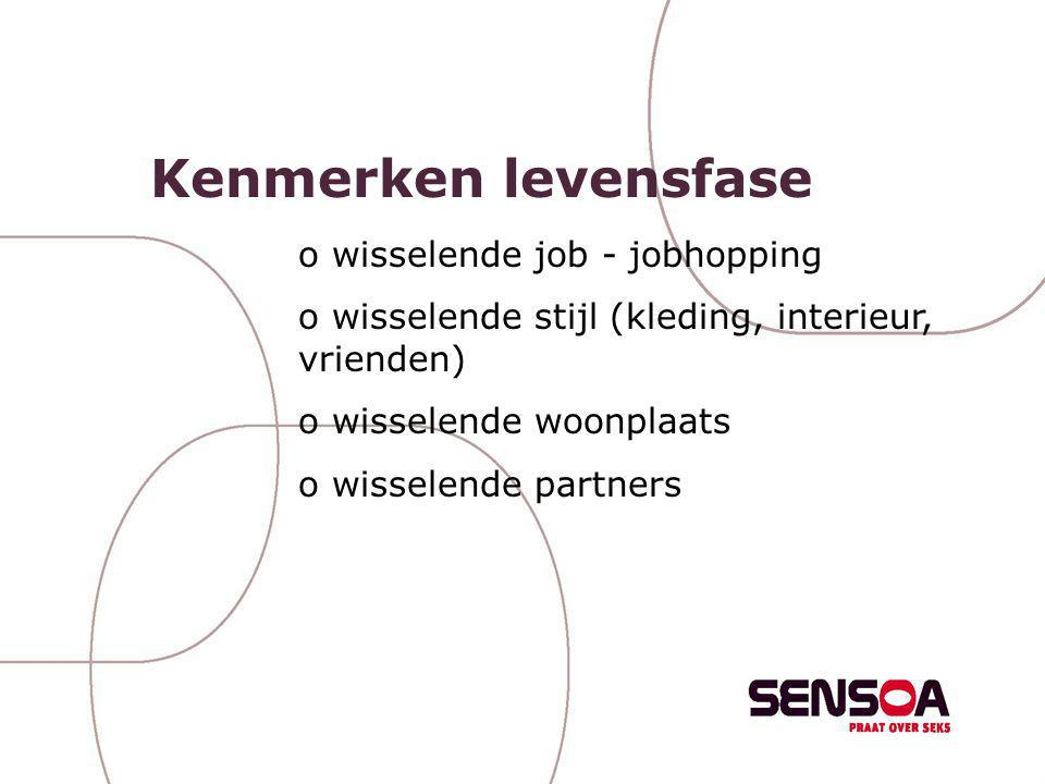 Kenmerken levensfase wisselende job - jobhopping