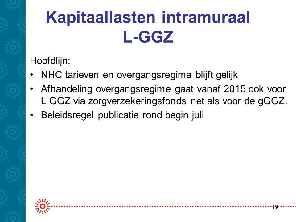 Kapitaallasten intramuraal L-GGZ