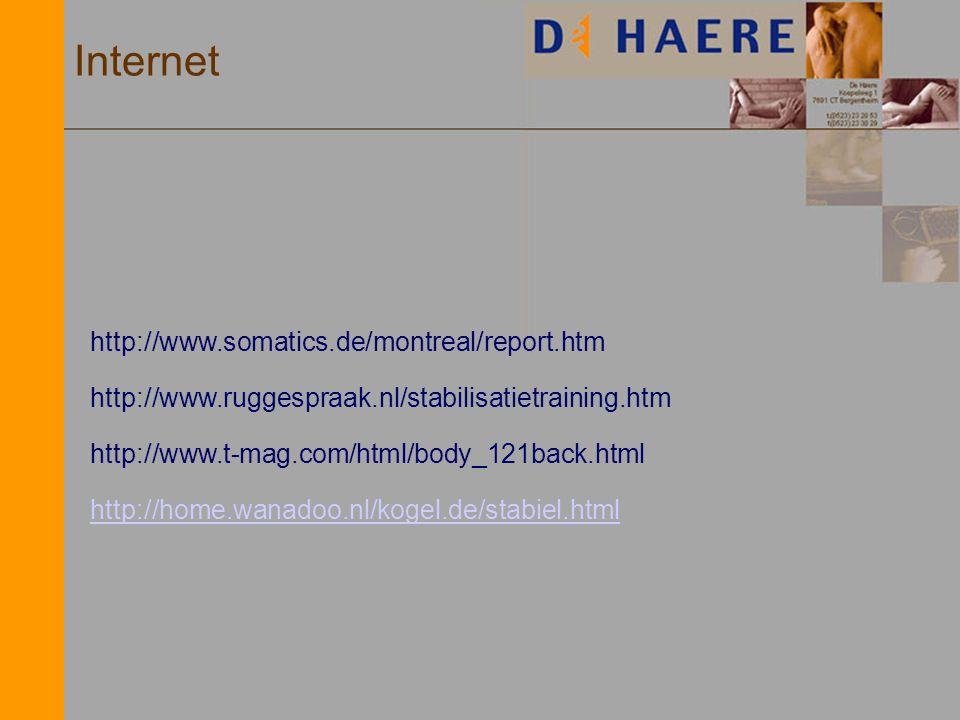 Internet http://www.somatics.de/montreal/report.htm