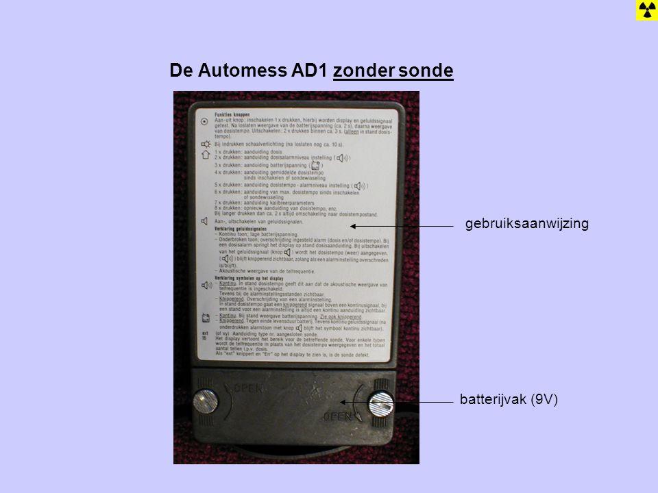 De Automess AD1 zonder sonde