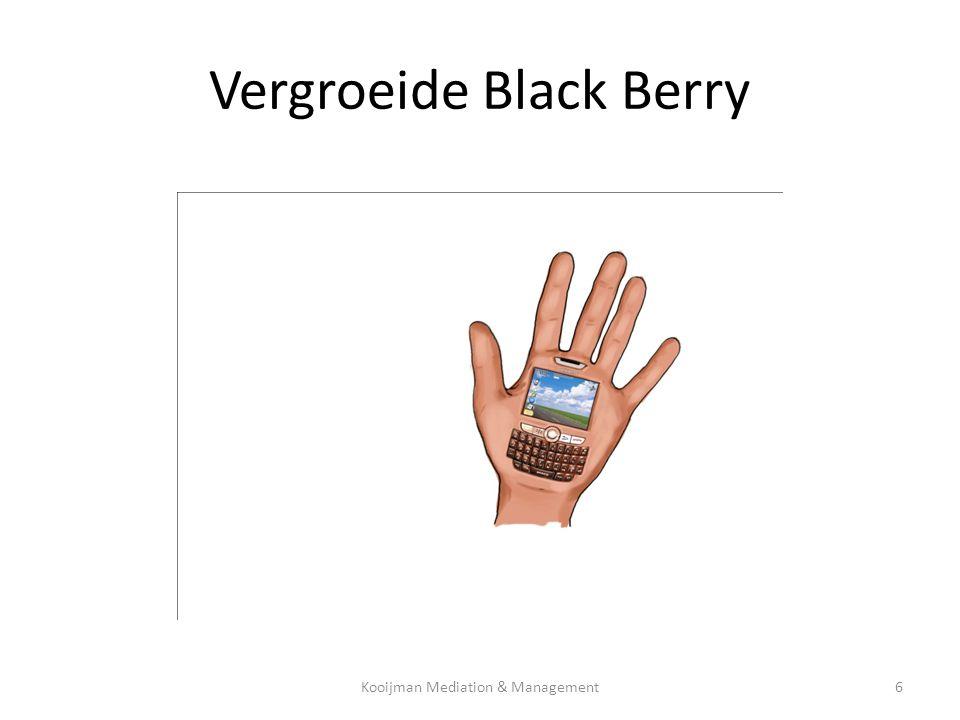 Vergroeide Black Berry