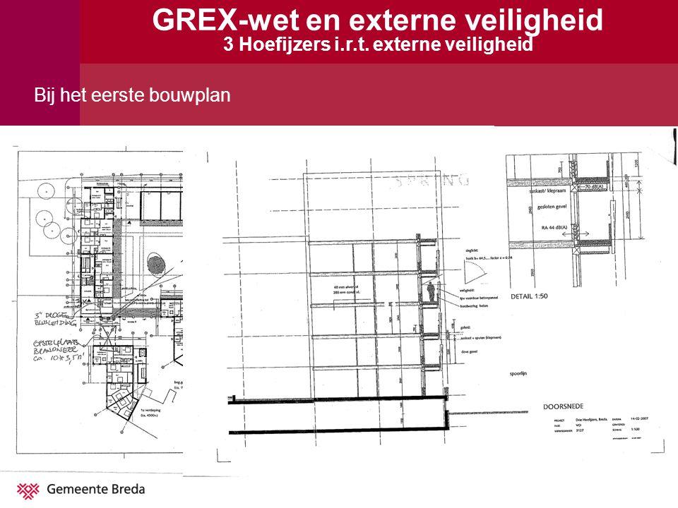 GREX-wet en externe veiligheid 3 Hoefijzers i.r.t. externe veiligheid