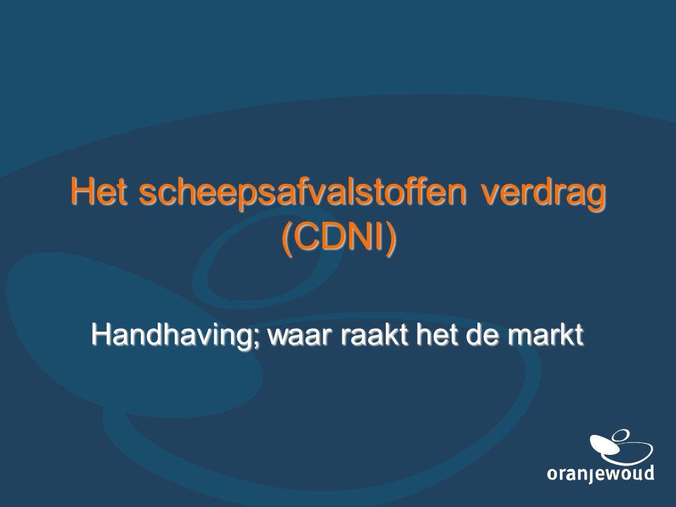 Het scheepsafvalstoffen verdrag (CDNI)