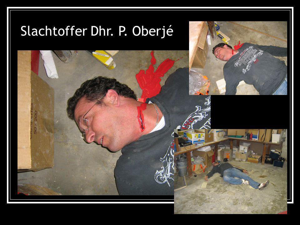 Slachtoffer Dhr. P. Oberjé