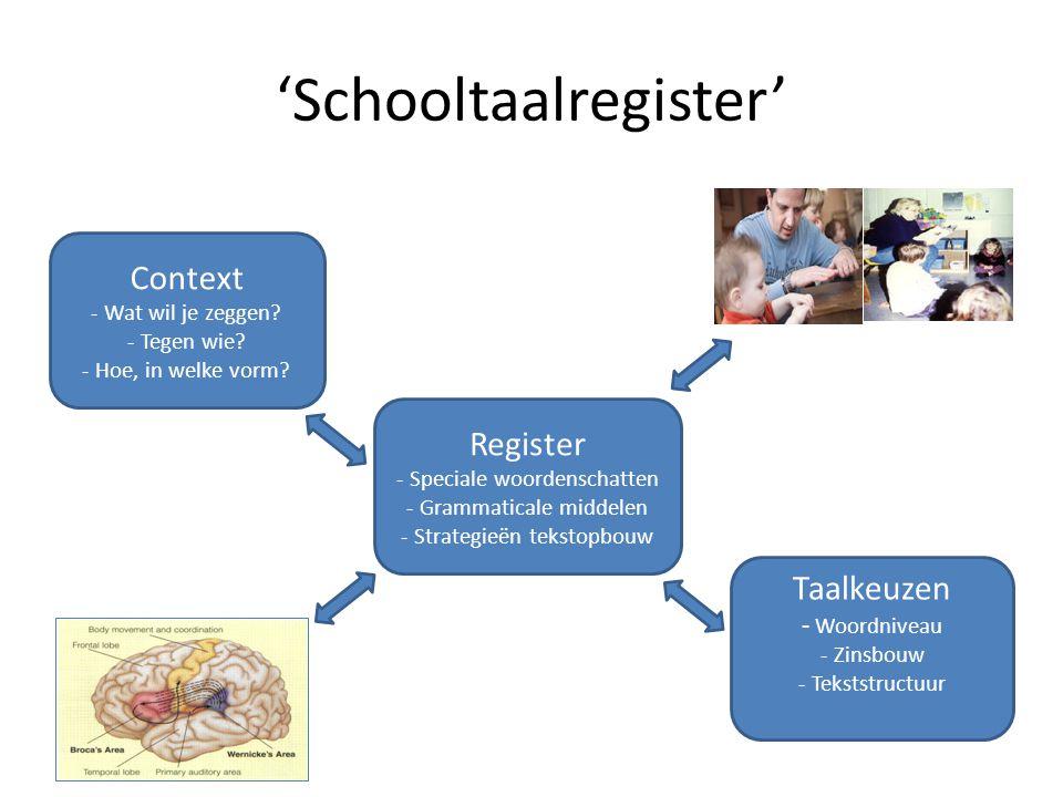 'Schooltaalregister'