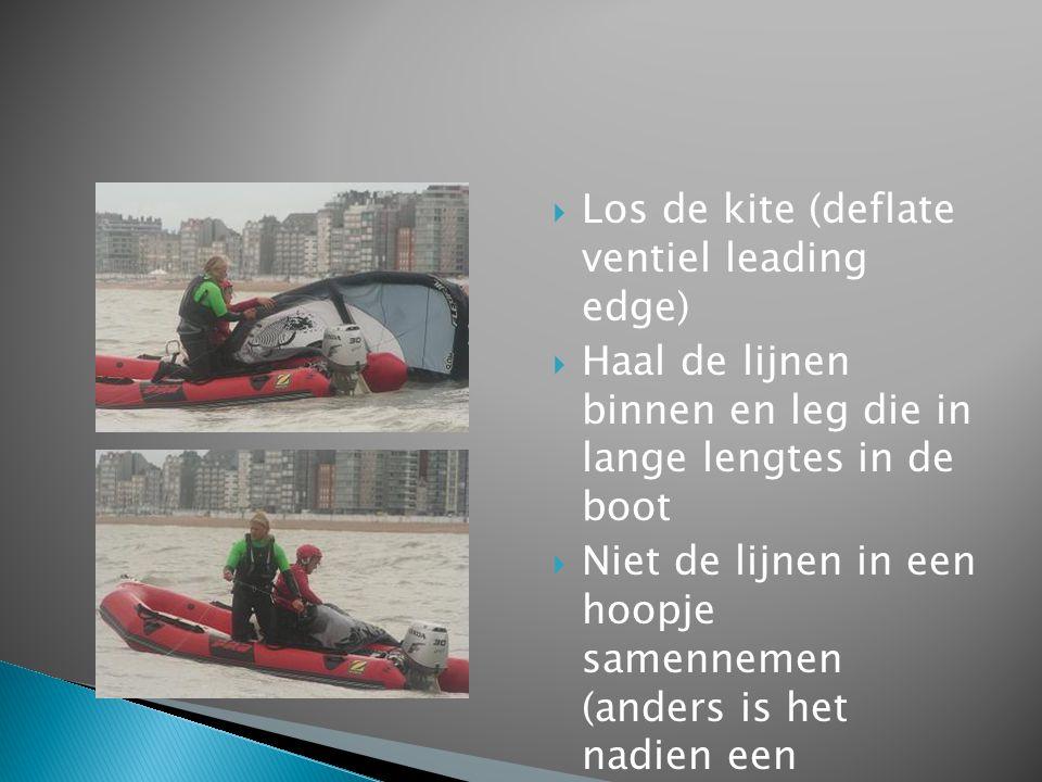 Los de kite (deflate ventiel leading edge)