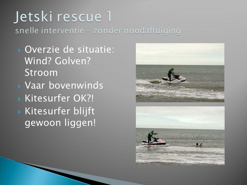 Jetski rescue 1 snelle interventie – zonder noodaftuiging