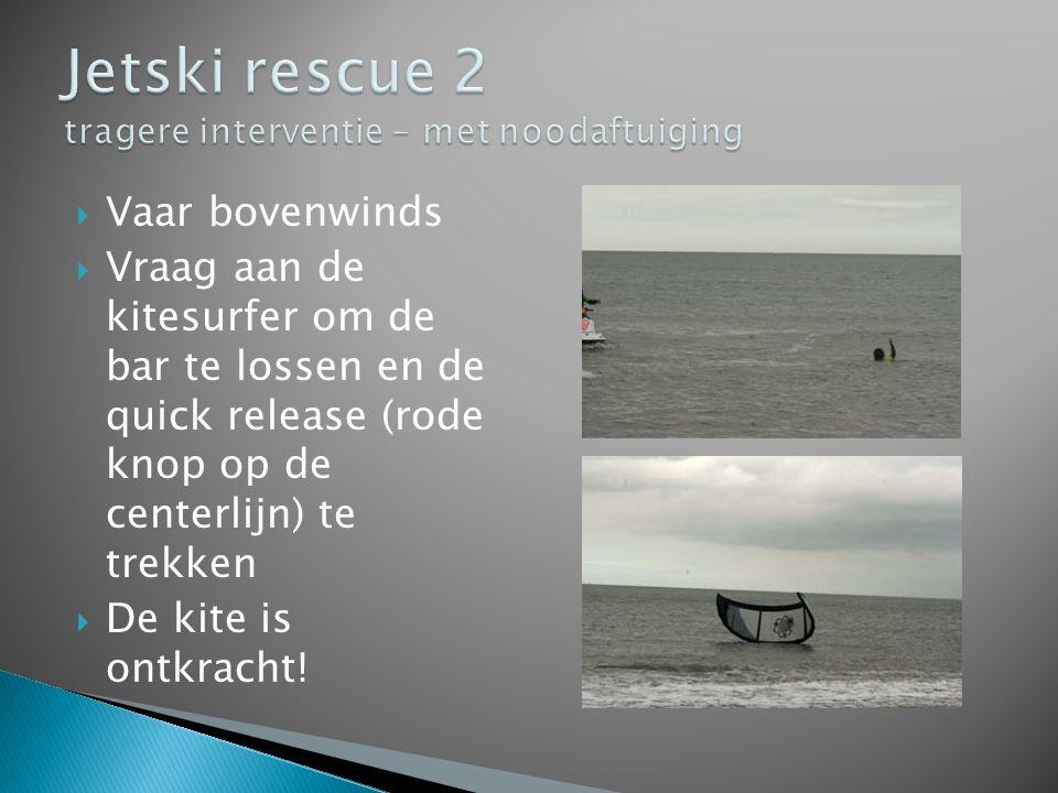 Jetski rescue 2 tragere interventie – met noodaftuiging