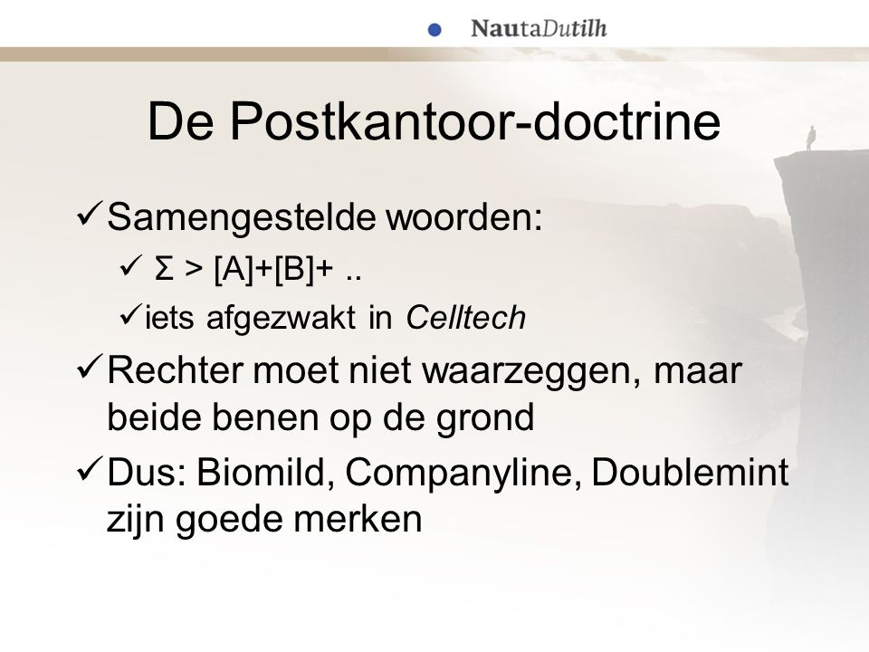 De Postkantoor-doctrine