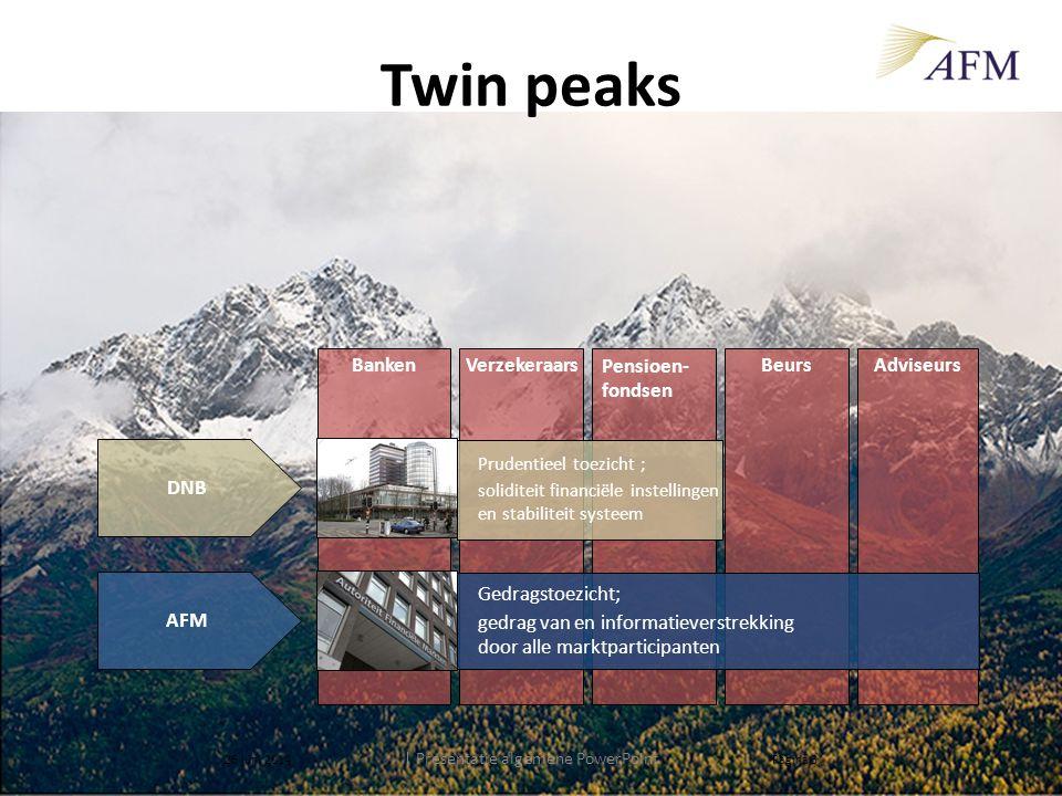 | Presentatie algemene PowerPoint