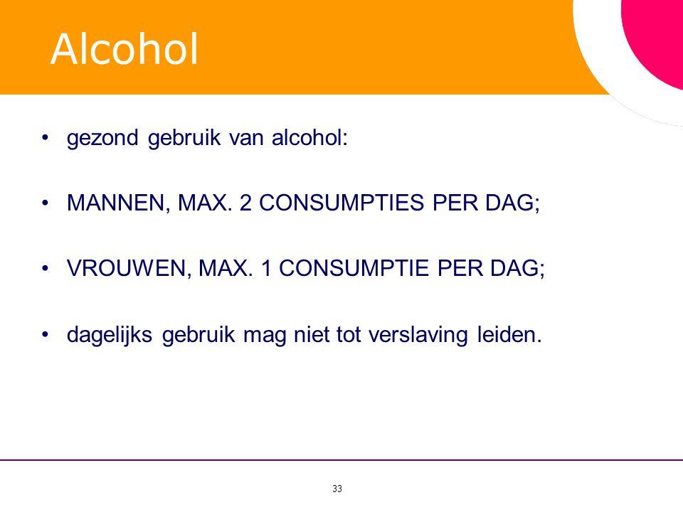 Alcohol gezond gebruik van alcohol: