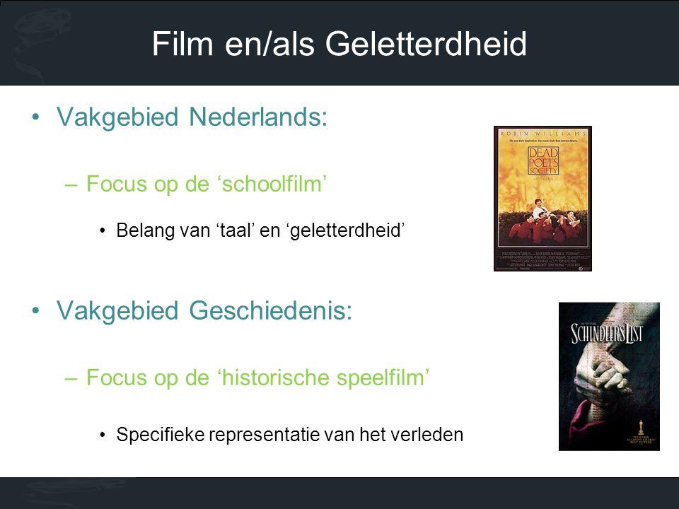 Film en/als Geletterdheid