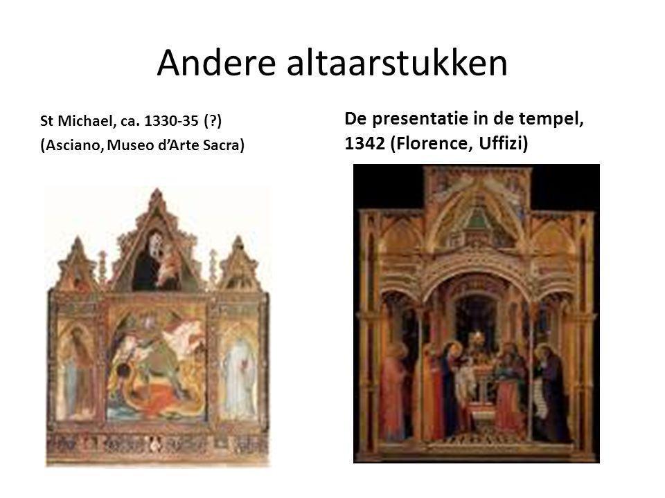 Andere altaarstukken St Michael, ca.