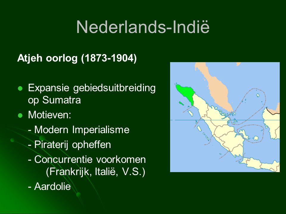 Nederlands-Indië Atjeh oorlog (1873-1904)