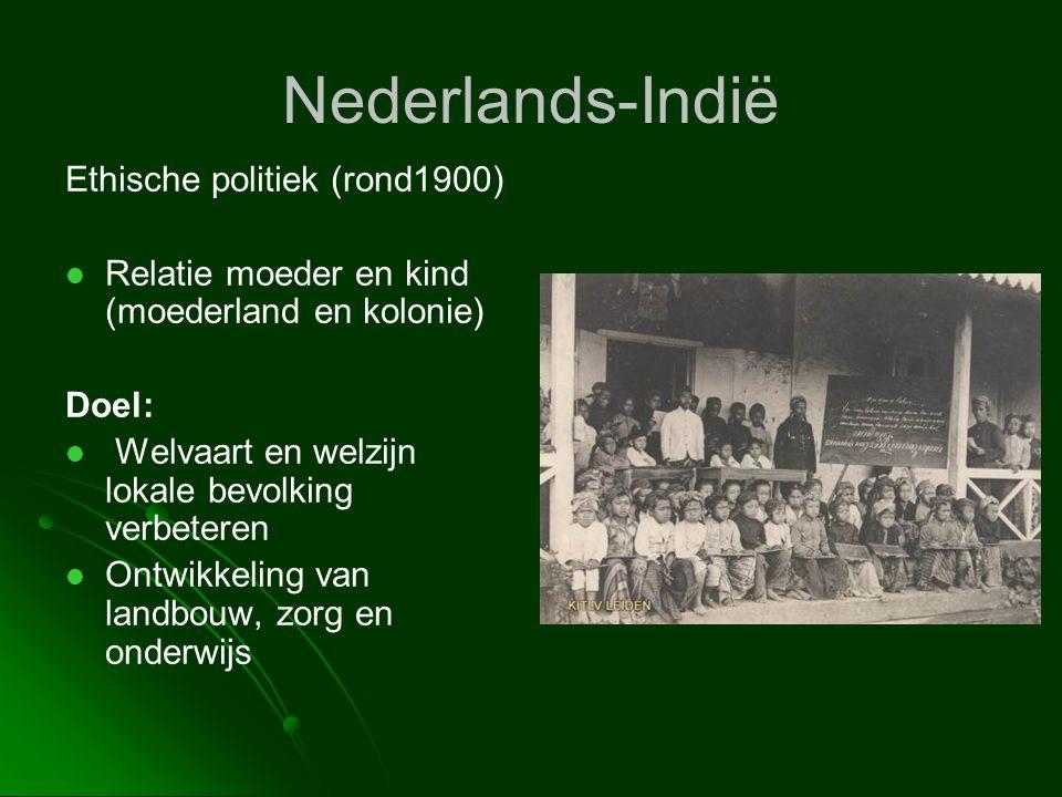 Nederlands-Indië Ethische politiek (rond1900)