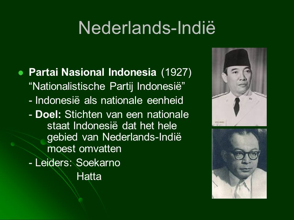 Nederlands-Indië Partai Nasional Indonesia (1927)