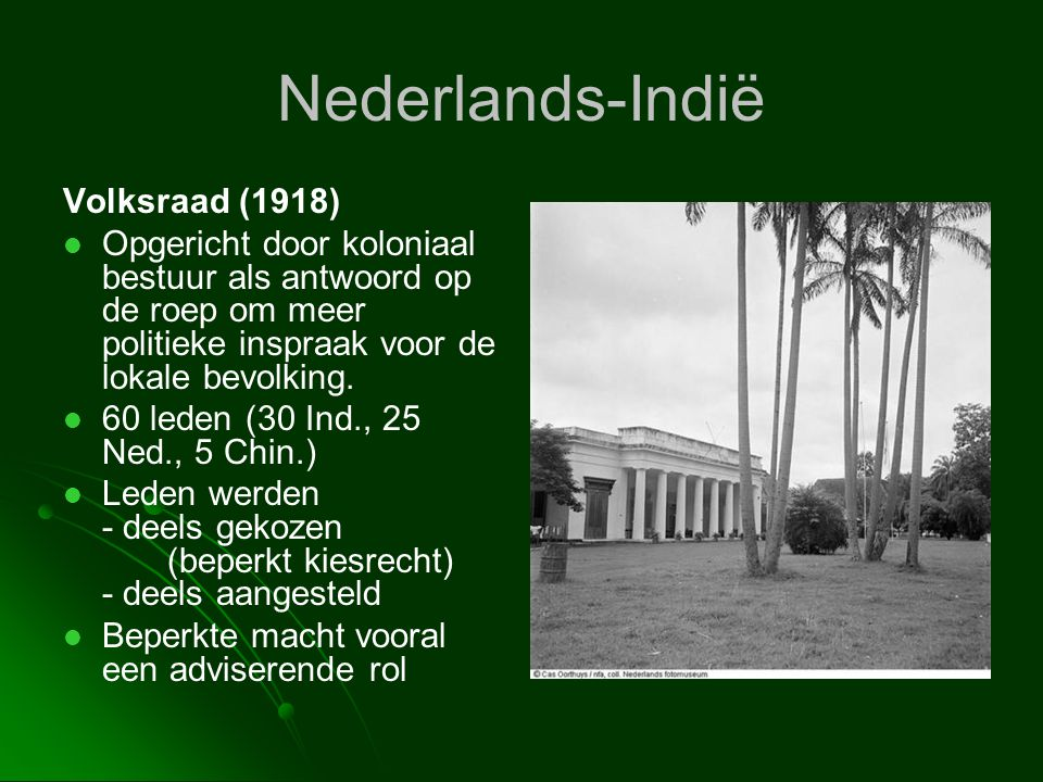 Nederlands-Indië Volksraad (1918)