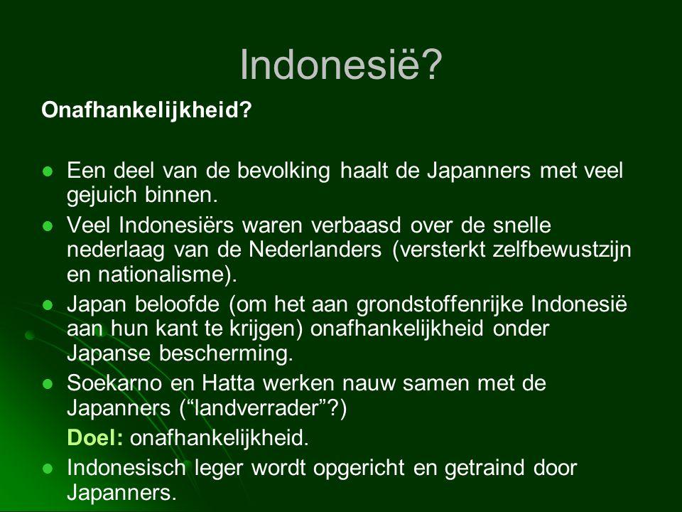 Indonesië Onafhankelijkheid