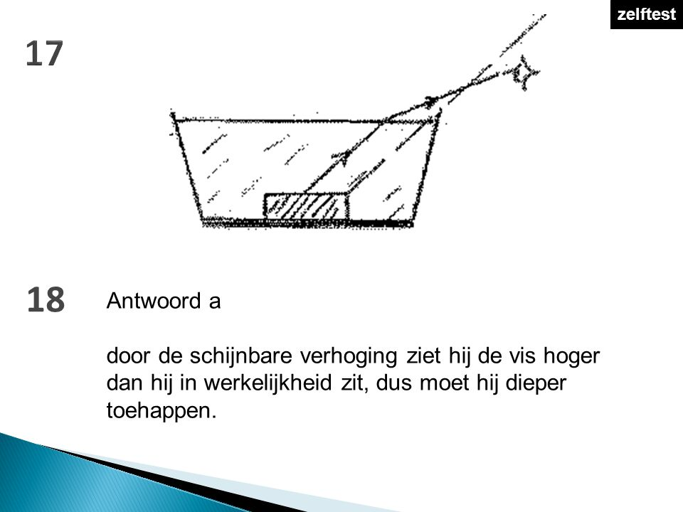zelftest 17. 18. Antwoord a.