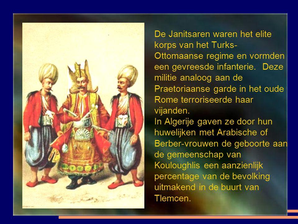 De Janitsaren waren het elite korps van het Turks- Ottomaanse regime en vormden een gevreesde infanterie.