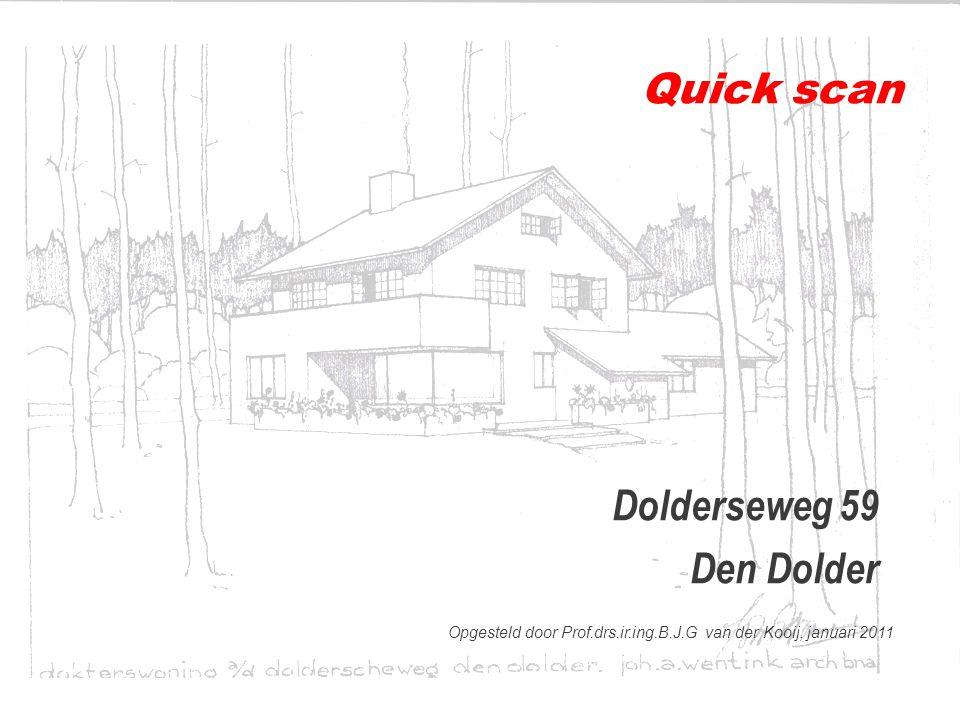 Quick scan Dolderseweg 59 Den Dolder
