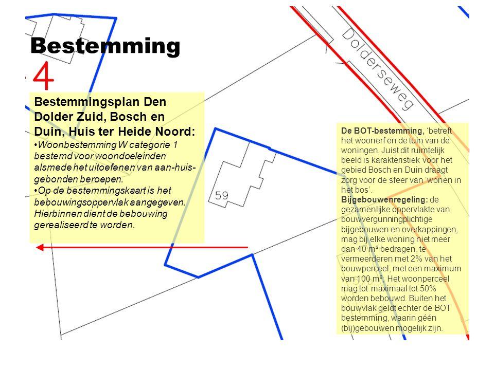 Bestemming Bestemmingsplan Den Dolder Zuid, Bosch en Duin, Huis ter Heide Noord: