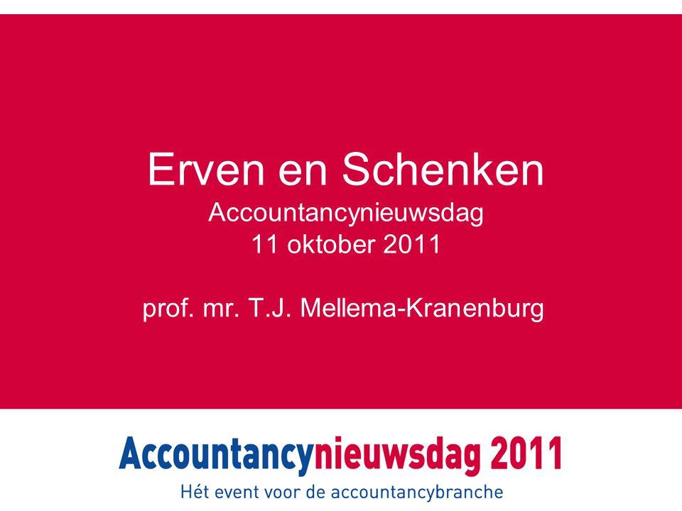 Erven en Schenken Accountancynieuwsdag 11 oktober 2011
