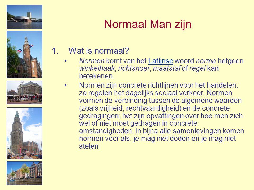 Normaal Man zijn Wat is normaal