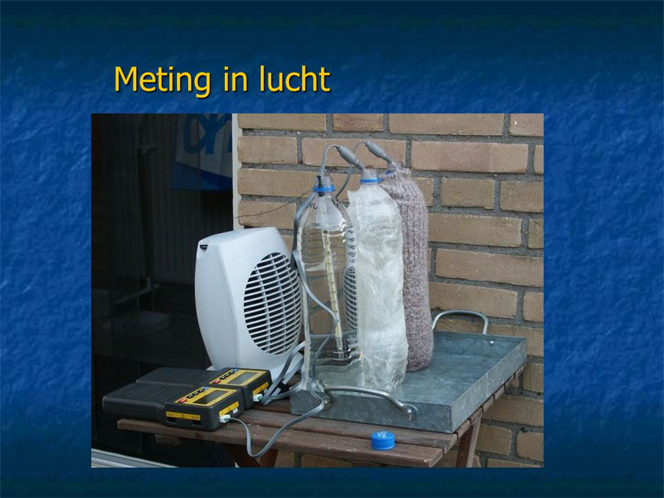 Meting in lucht
