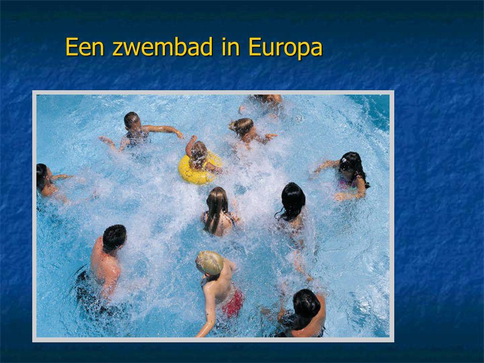 Een zwembad in Europa