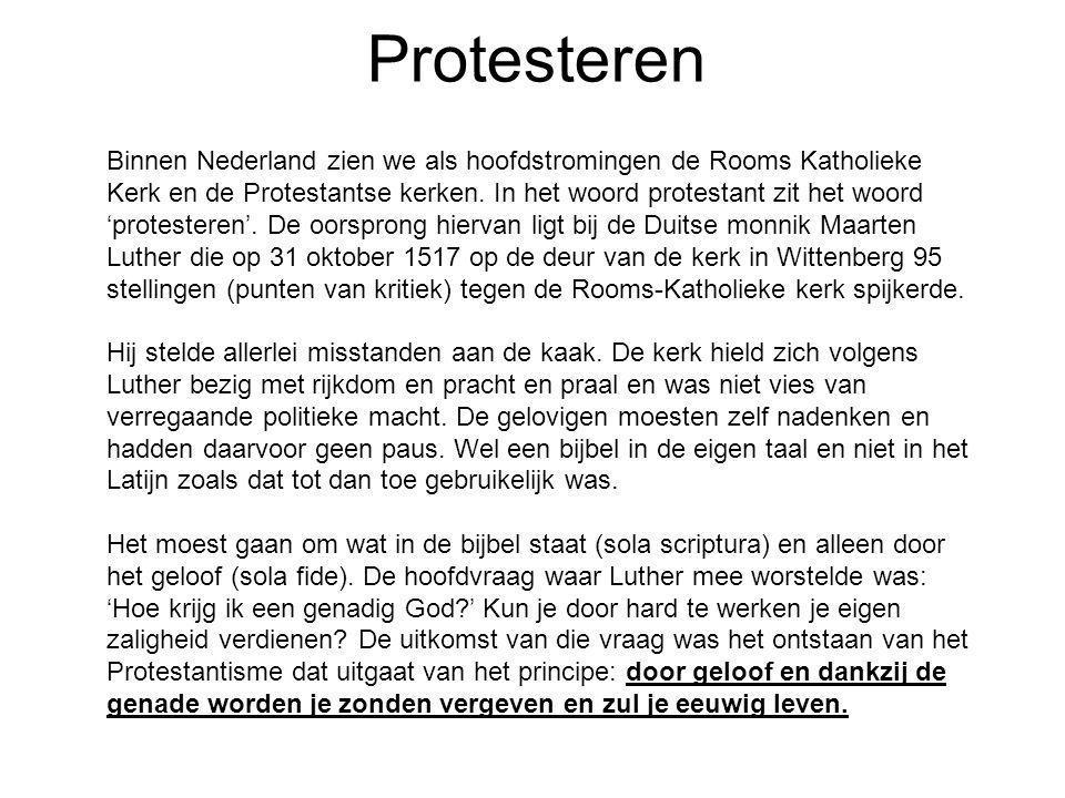 Protesteren