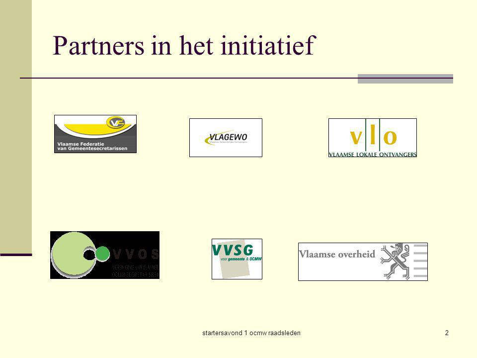 Partners in het initiatief