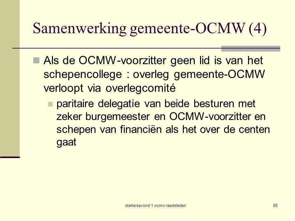 Samenwerking gemeente-OCMW (4)