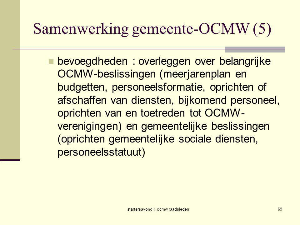 Samenwerking gemeente-OCMW (5)