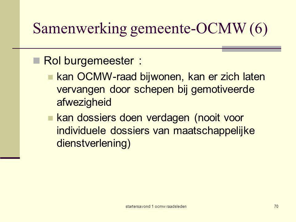 Samenwerking gemeente-OCMW (6)